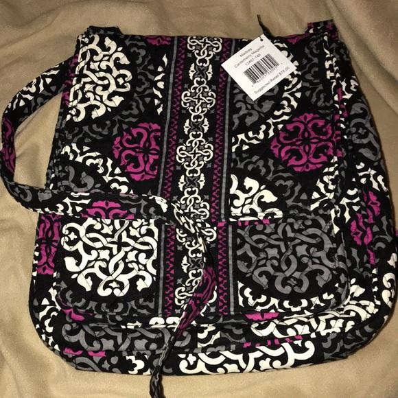 Authentic Vera Bradley Mailbag in Pink Swirls 12467 for sale online | eBay